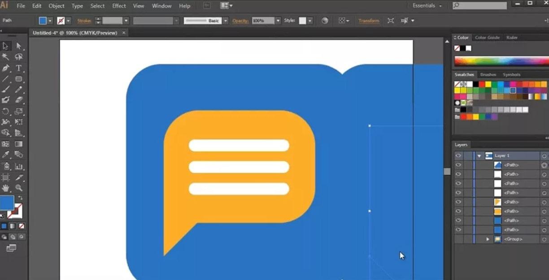 Интерфейс Adobe Illustrator