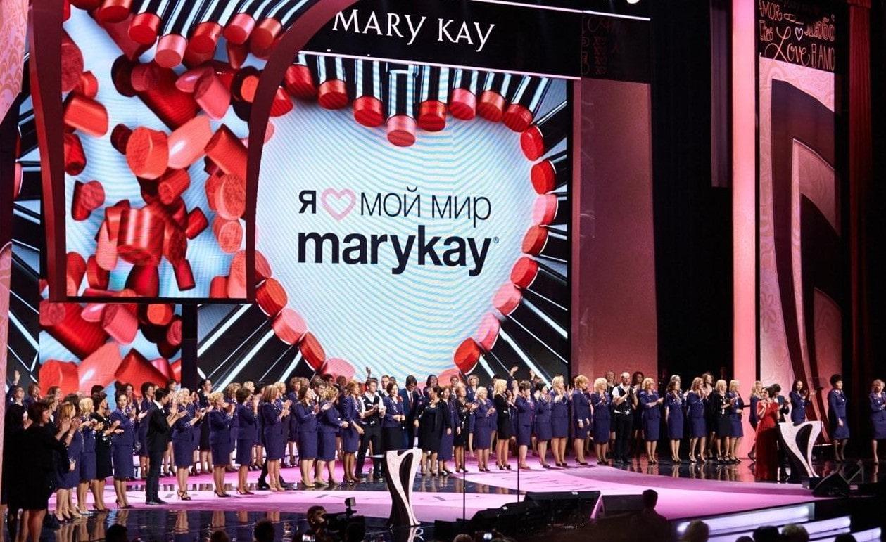 Церемония награждения на семинаре Mary Kay
