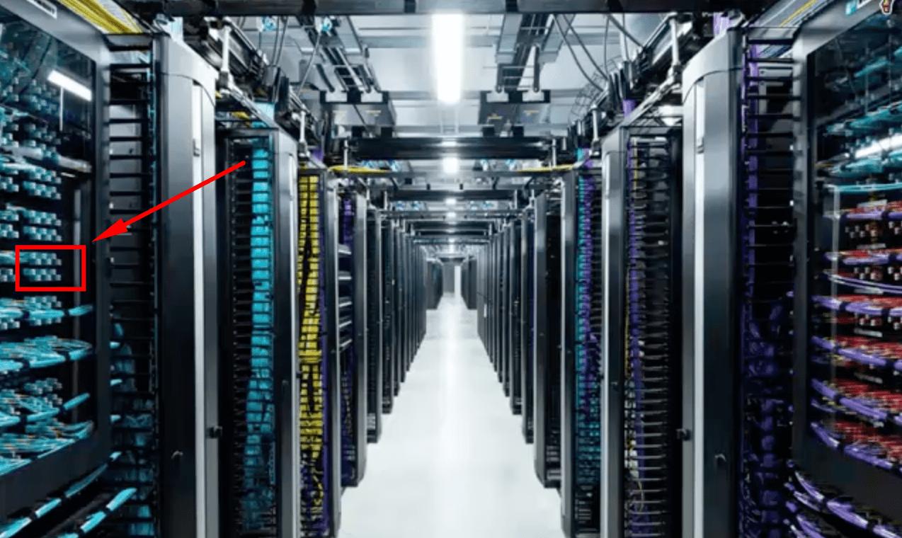Стойки для аренды виртуального сервера