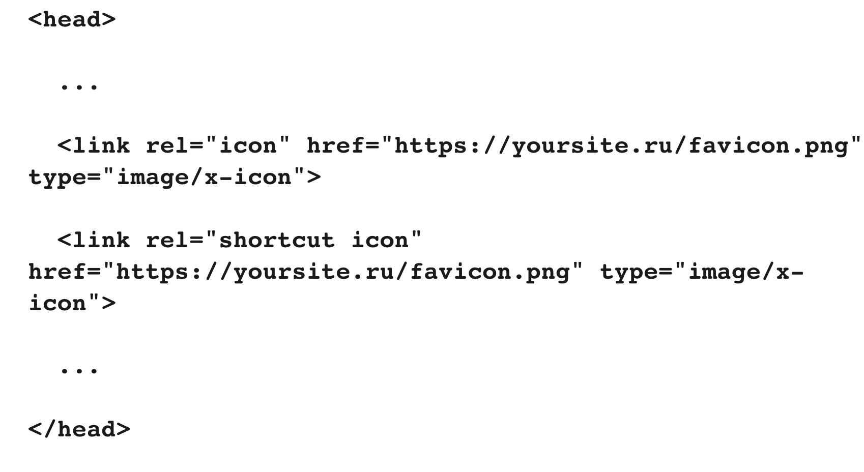 Код добавления на сайт