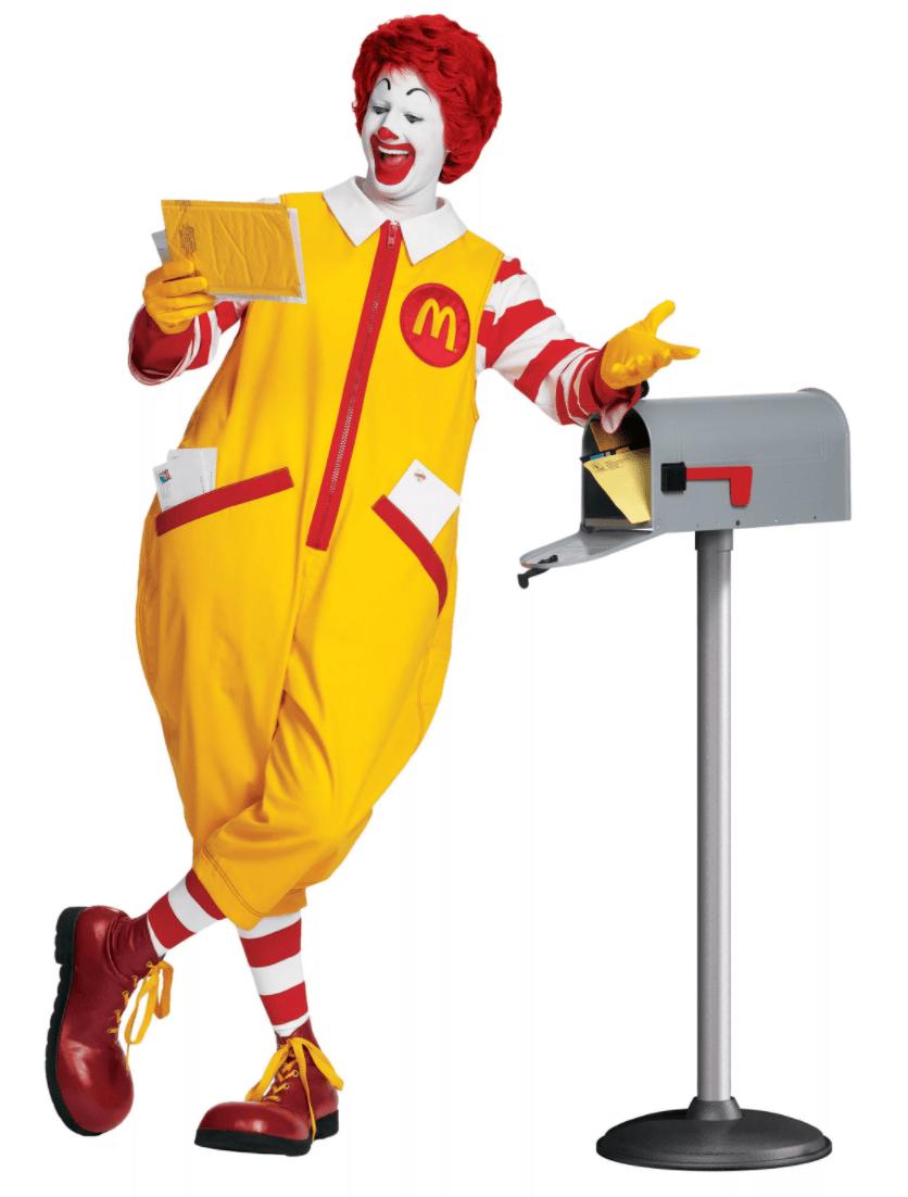 Рональд МакДональд - маскот компании McDonald's